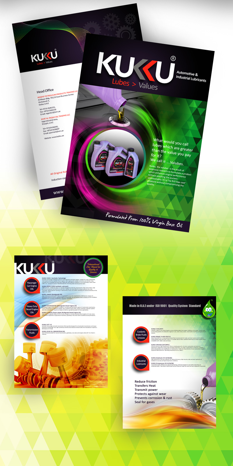 Brochure Designing Project For Petroleum Company in UAE